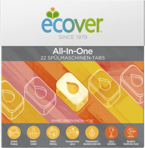 6 X ECOVER GSM TABS ALL-IN    22ER